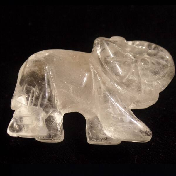 Hegyikristály elefánt