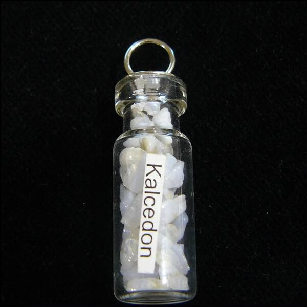 Kalcedon üvegcse