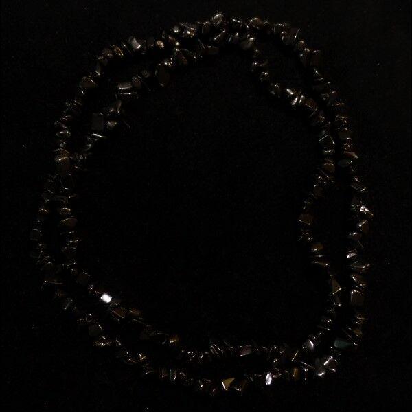 Ónix nyaklánc 90 cm-es