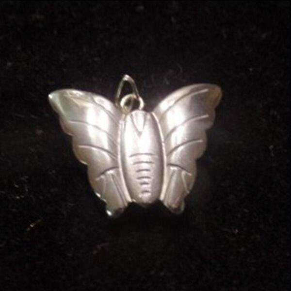 Hematit medál pillangó