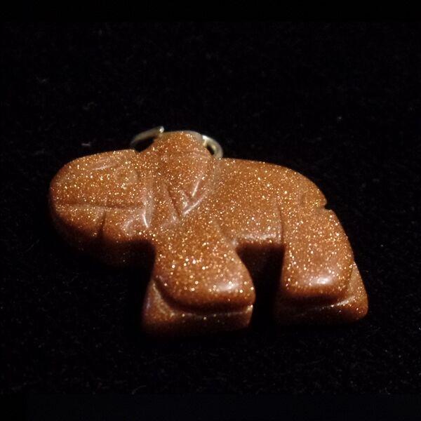 Napkő elefánt medál