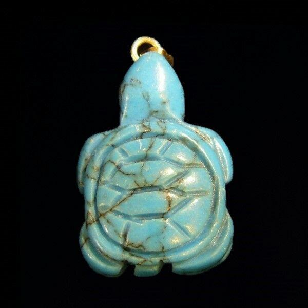 Türkinit teknős medál