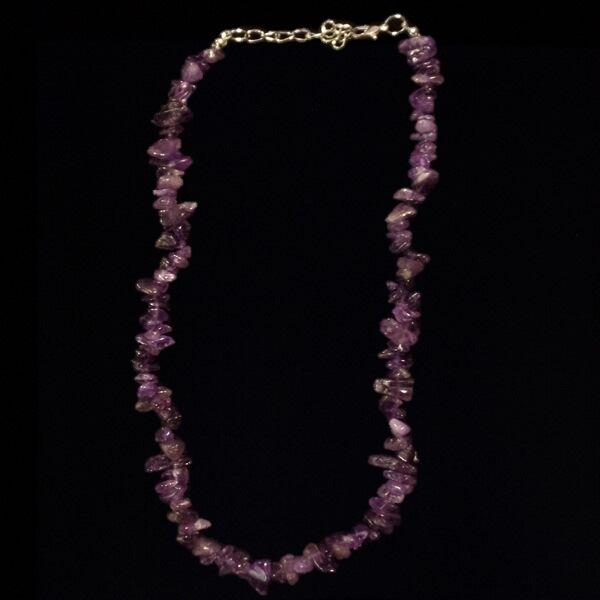 Ametiszt nyaklánc